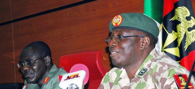 Le nouveau Commandant en chef de la force mixte multinationale général Illiya Abbah. Crédit photo : Sources