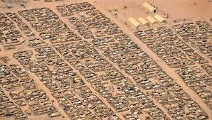 Un camp de réfugiés au Tchad. AFP