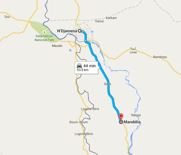 Tchad: 9 morts et 17 blessés dans un grave accident de circulation