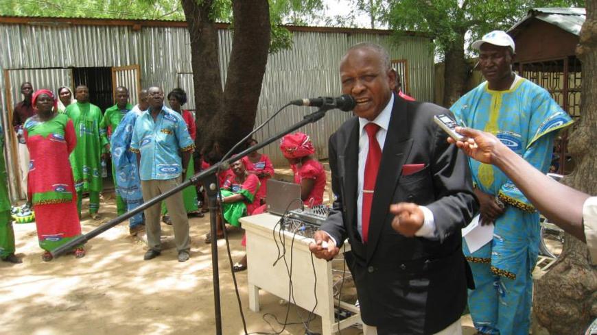 Le président de l'Union des Syndicats du Tchad (UST), M. Younous Mahadjir.