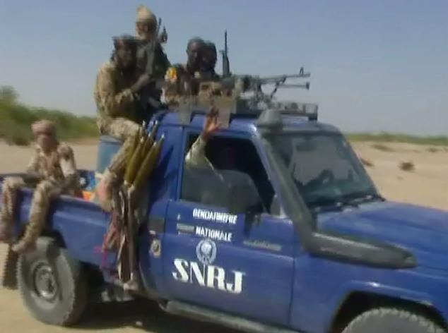 Un véhicule de la Section Nationale de la Police Judiciaire (SNRJ). Alwihda Info