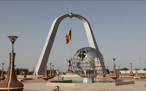 Place de la nation à N'Djamena. Crédits: Sources
