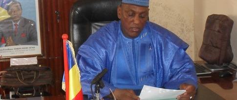Le Gouverneur de la région du Salamat, Djibert Younous. Crédits photo : Sources