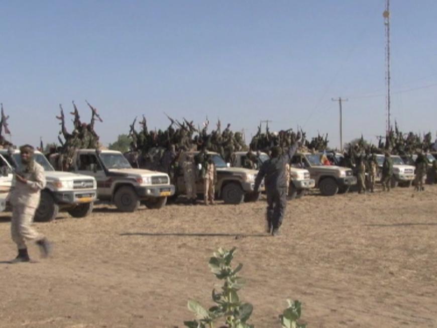 L'armée tchadienne lors d'une préparation d'offensive contre Boko Haram. Alwihda Info