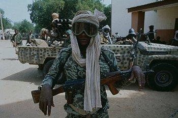 Un soldat tchadien, photo non datée. Crédits: Sources