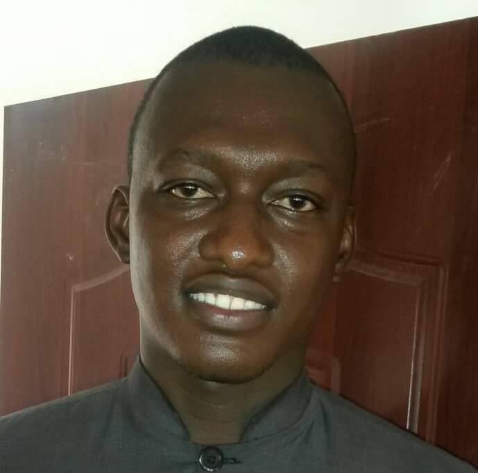 Le jeune NADJO KAYNA Président de l'UNET.