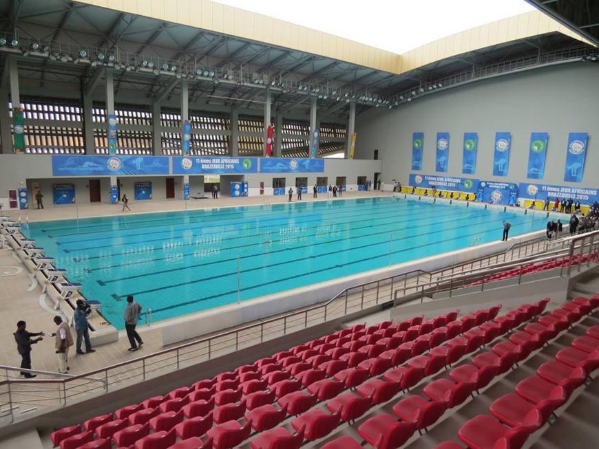 11èmes Jeux Africains à Brazzaville : la plaque inaugurale du complexe sportif de Kintélé dévoilée par Denis Sassou N'Guesso