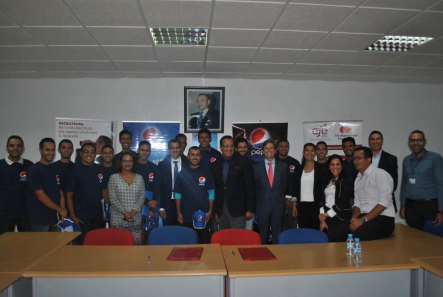 EMPLOI - La Fondation « EFE-Maroc» signe une convention de partenariat avec Varun Beverages Morocco-Pepsi : Une synergie au profit des jeunes.