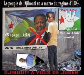 DJIBOUTI - Appel à Manifester: «#Non4Mandat», du 01 novembre 2015.