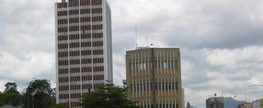 Immeuble siège de la Camtel à Yaoundé