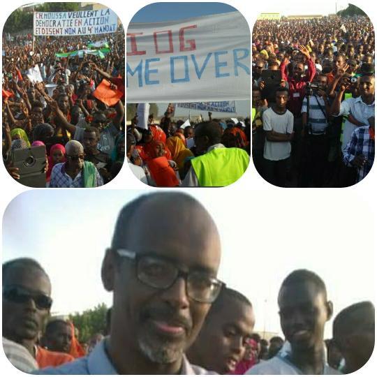 DJIBOUTI - MANIFESTATION DU 20 NOVEMBRE 2015 : J'Y ÉTAIS !