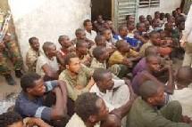 Tchad: les rebelles prisonniers présentés à la presse