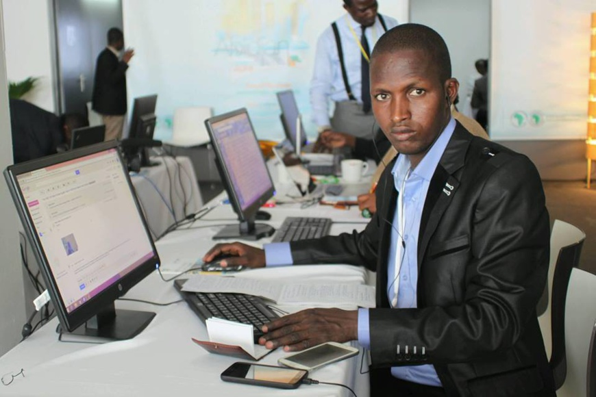 Djimet Wiche Wahili, Directeur de publication du journal Alwihda Actualités
