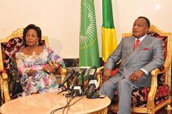 """Denis Sassou N'Guesso : """" Je suis prozfondément convaincu que l'agenda 2063 de l'Union Africaine s'arrime avec le rêve chinois ..."""""""