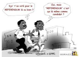 Le Billet d'Albert : Centrafrique, Rire ça fait du bien