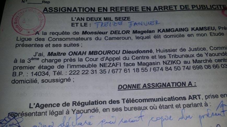 Cameroun : MTN, Orange et l'ART en justice pour publicité mensongère et escroquerie !