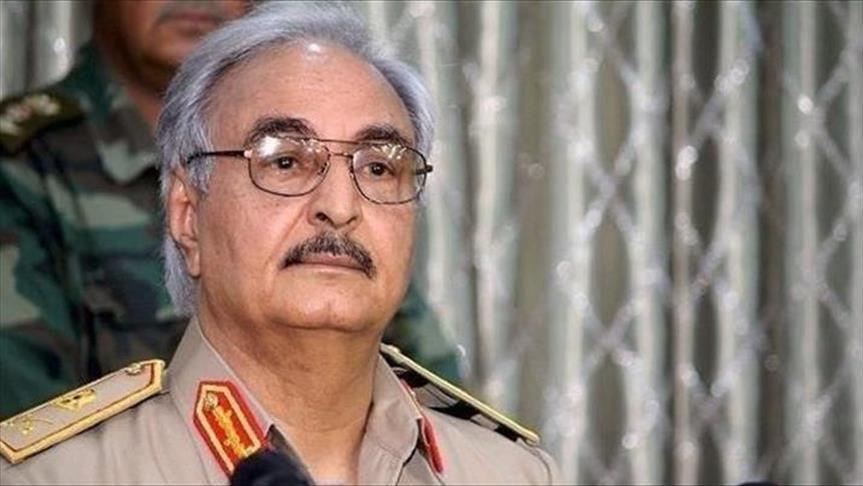 Le Général libyen Khalifa Haftar - Credit photo