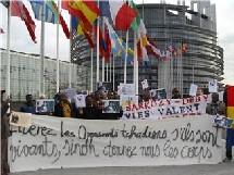 Tchad: manifestation à l'occassion des 2 mois de captivité du DR IBNI OUMAR