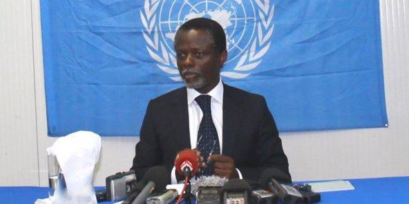 Centrafrique : Le Représentant spécial de l'ONU, Parfait Onanga-Anyanga prend note des résultats provisoires de la présidentielle. © ONU