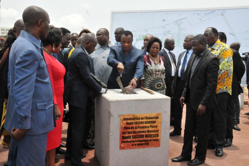 Congo Brazzaville : Une université de 30000 places en construction à Kintélé