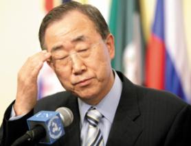 Ban Ki Moon, la honte des Secrétaires Généraux de l'ONU, hué par le peuple marocain unanime et condamné par la communauté internationale.