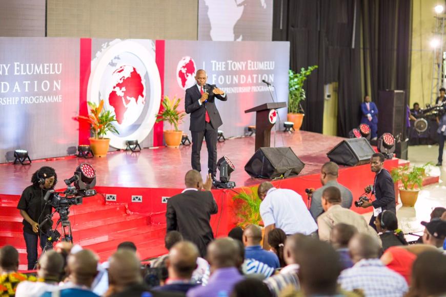 1.000 nouveaux jeunes entrepreneurs africains rejoignent le programme d'entreprenariat de Tony Elumelu