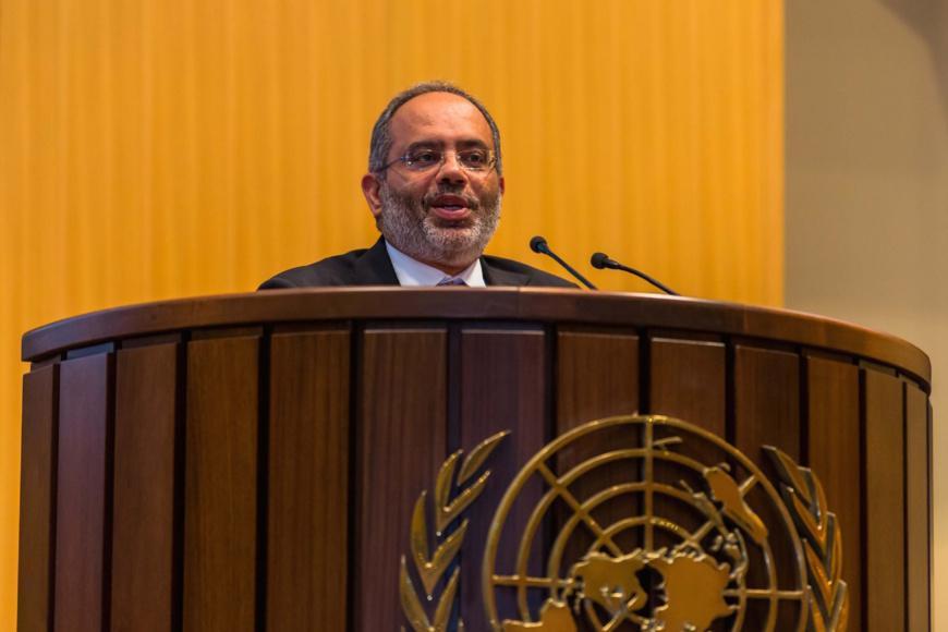 Carlos Lopes, secrétaire exécutif de la Commission économique pour l'Afrique.