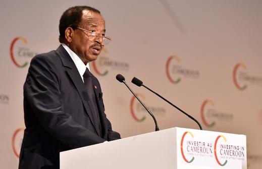 """Paul Biya: """"Le Cameroun est un havre de paix, un état de droit, un pays de libertés. """""""