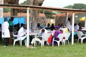Programme de santé communautaire à Mouyondzi : Près de 300 patients consultés lors de la journée inaugurale le 13 juin 2016