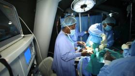 Programme de santé communautaire au Congo : Plus d'une quarantaine d'interventions chirurgicales réalisées en 48 heures à Mouyondzi