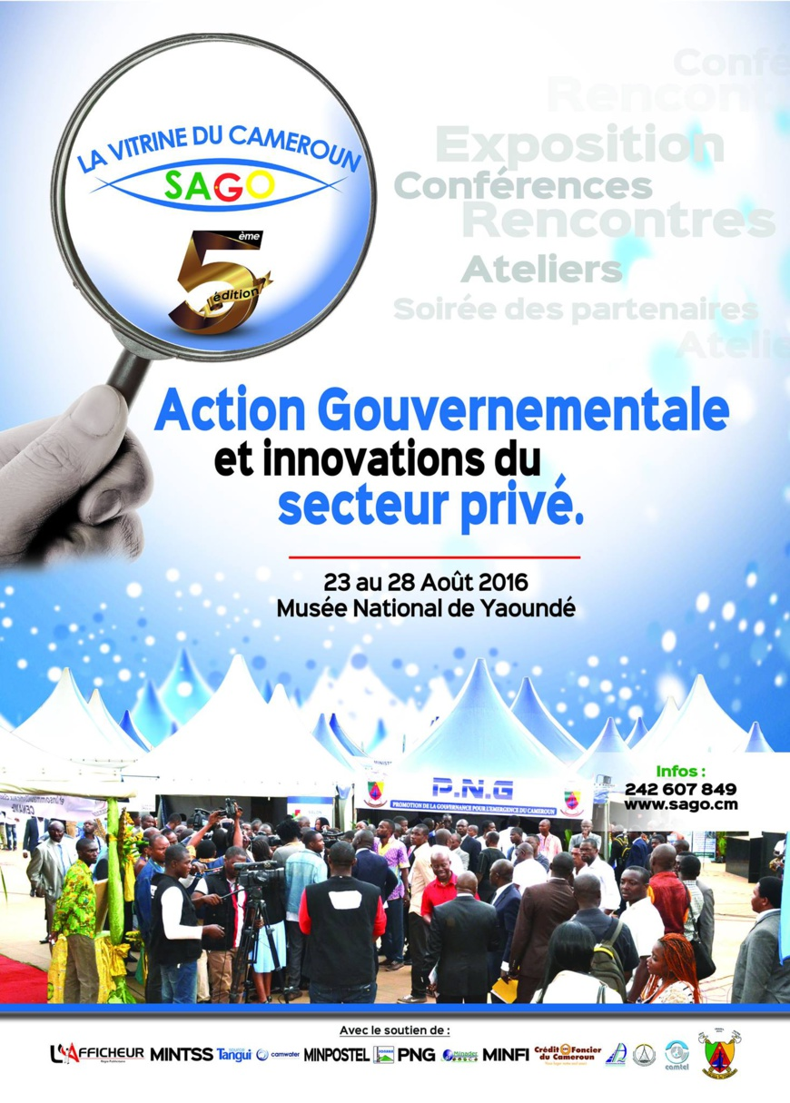 Cameroun:Comment participer au Sago2016