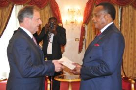Diplomatie : Bertrand Cochery déterminé à dynamiser la coopération entre la France et le Congo