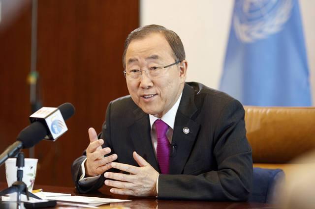 Ban Ki-moon: G20 Hangzhou Summit towards peace, development and human rights for all