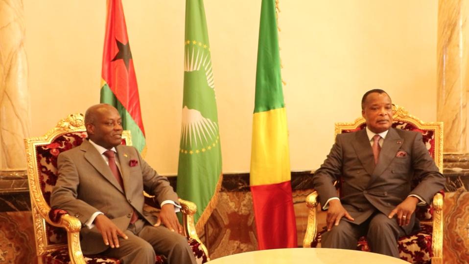 Coopération bilatérale : Le président de la Guinée Bissau en visite de travail  à Brazzaville