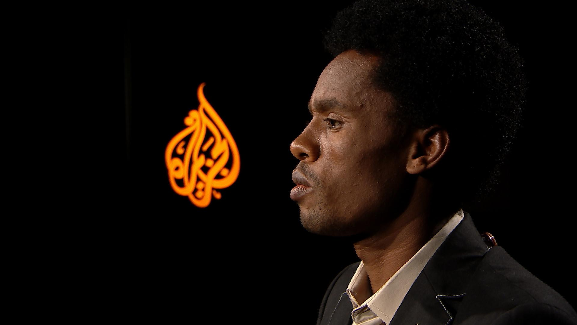 """""""I want the superiority of one ethnic group to end"""" - Ethiopia's Olympic Silver medallist Feyisa Lilesa talks to Al Jazeera"""