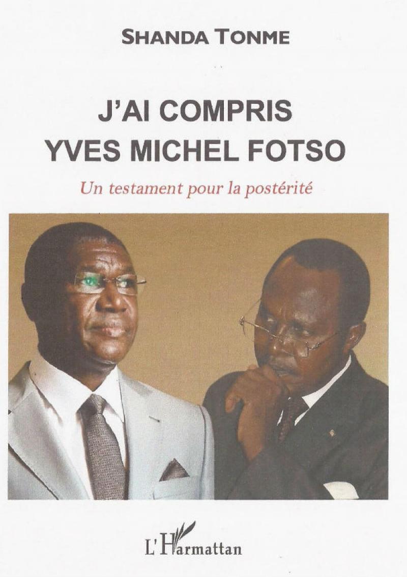 """Yves Michel Fotso,ancien ADG de la Camair et le Pr Shanda Tonme,auteur de l'ouvrage:""""J'ai compris Yves Michel Fotso"""""""