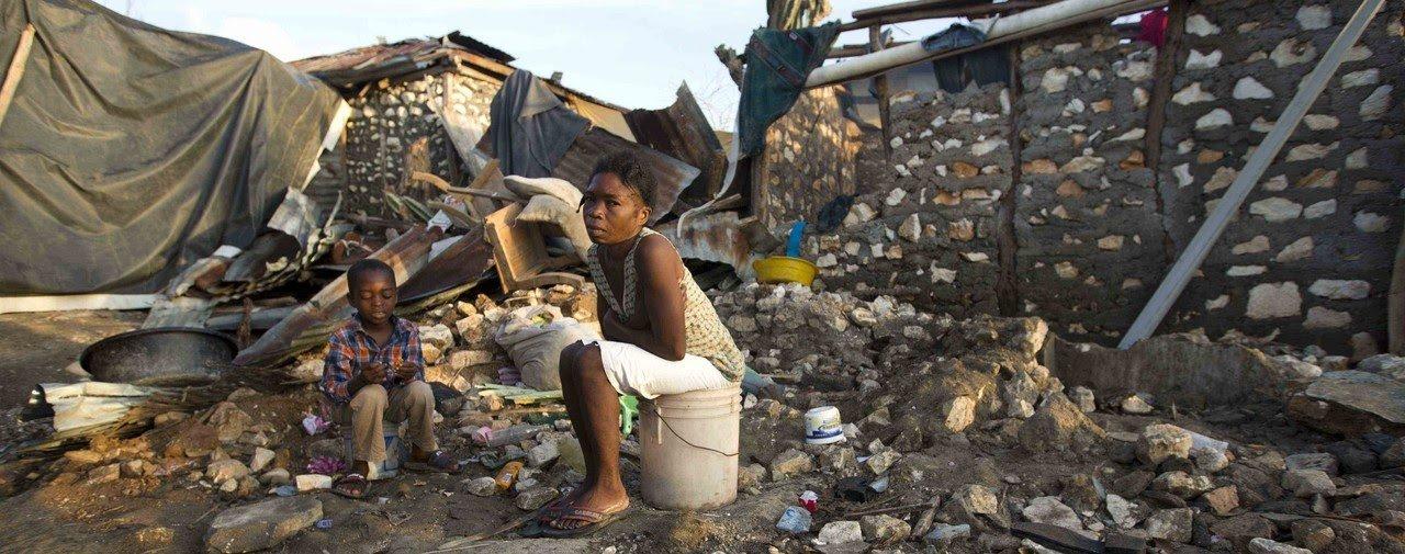 Après l'ouragan, Haïti affronte la famine et le choléra