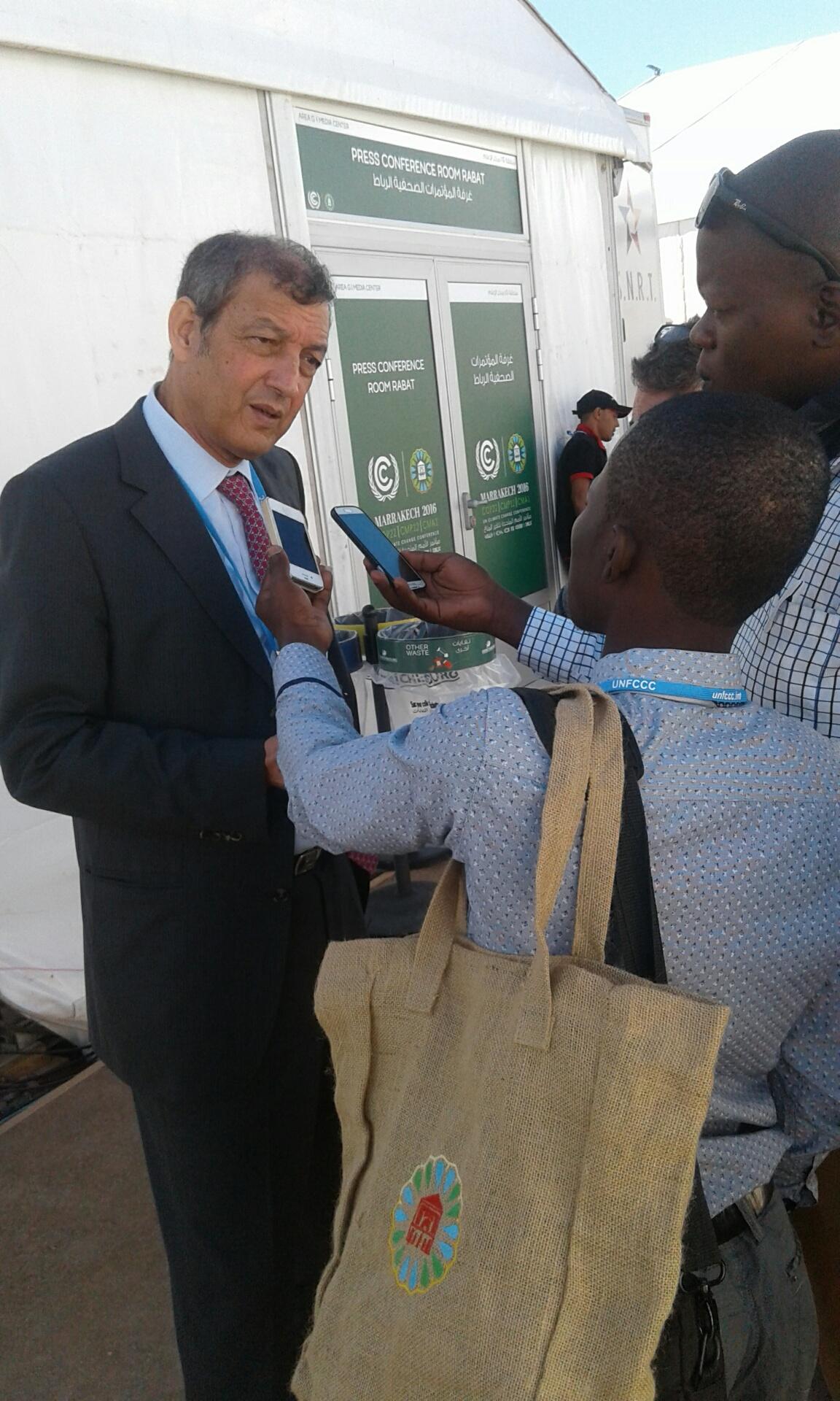 COP22 : Un projet d'assainissement durable réalisé à moindre coût en Centrafrique. Alwihda Info/D.W.