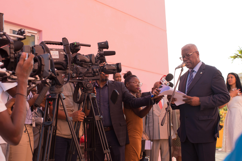 Paulino Baptista, ministre de l'hôtellerie et du tourisme de l'Angola