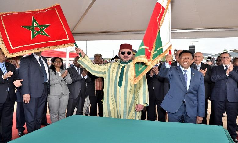 Le Roi Mohammed VI à Antsirabé : une visite à forte charge mémorielle et historique