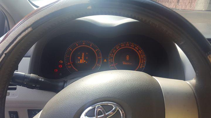 Toyota corolla 1.3l