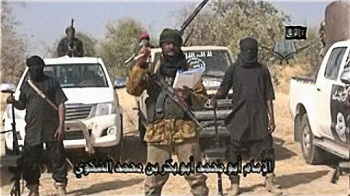 Le leader de Boko Haram dans sa fuite a abandonné son Coran et son drapeau