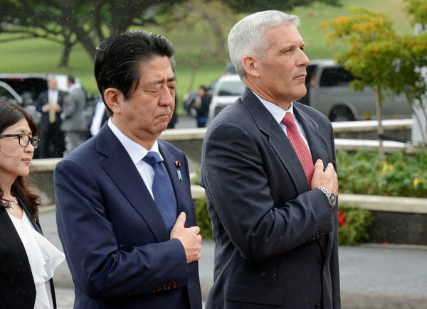 Abe's Pearl Harbor visit a stunt, lacking in sincerity