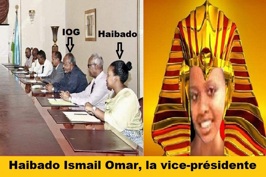 Djibouti/Népotisme: Haibado Ismail Omar, fille cadette du couple présidentiel et vice-présidente de la dictature familiale