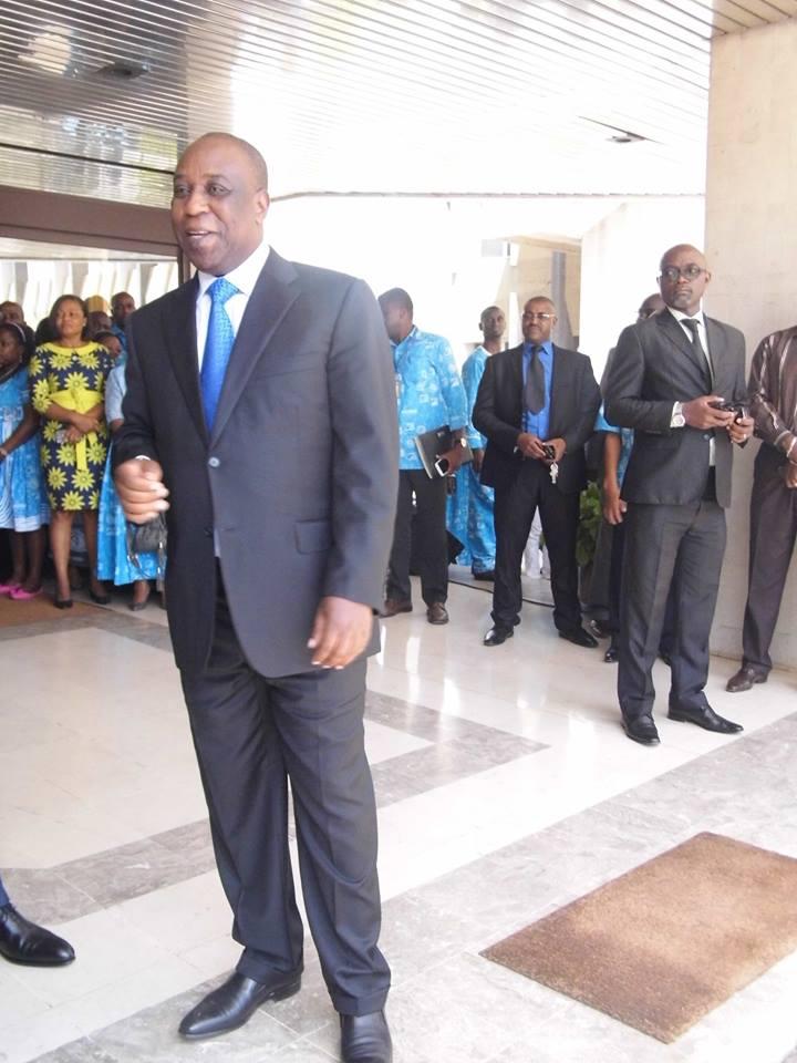 David Nkoto Émane,Dg Camtel : un homme d'actions