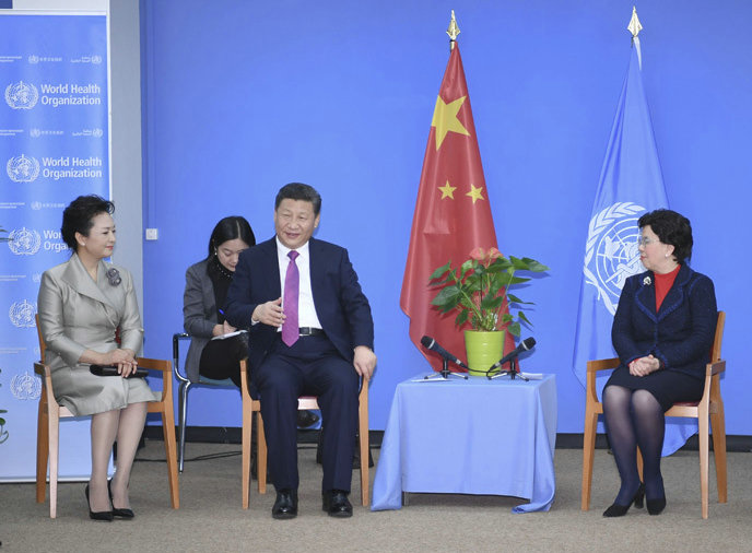 China always a strong partner of WHO: Director-General