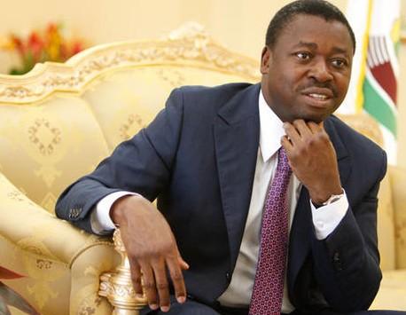 Le Chef de l'Etat togolais, Faure Essozimna Gnassingbé. Crédit photo : Sources