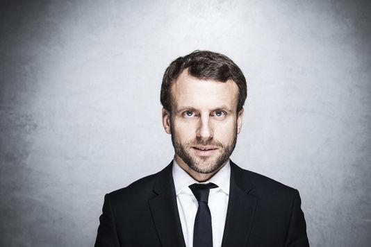 Emmanuel Macron, ministre de l'économie, à Paris le 5 janvier. ED ALCOCK/MYOP POUR LE MONDE