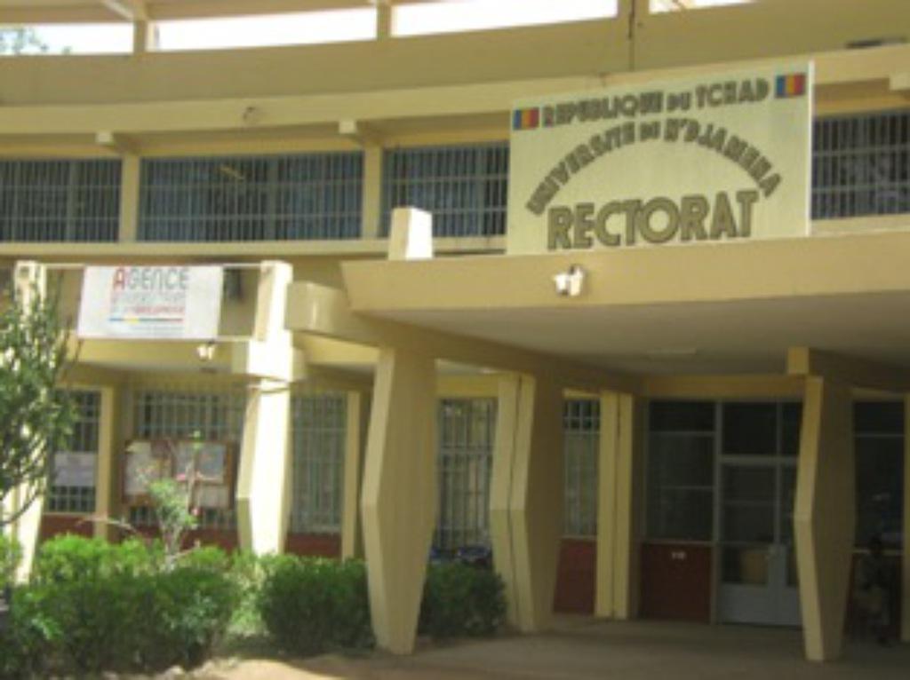 Rectorat de l'Université de N'djamena. Crédit photo : Sources