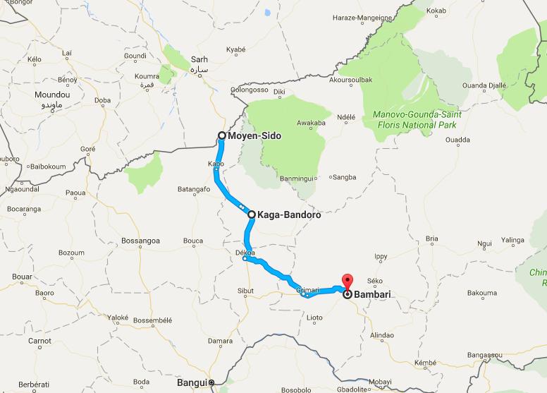 Troubles en RCA : Un média accuse sans preuves les assaillants d'être partis du Tchad